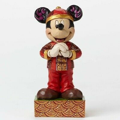 Jim Shore Disney Traditions - Mickey Around The World - Greetings From China ...