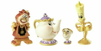 Beauty and the Beast - Enchanted Objects Set Figurine by Disney Showcase