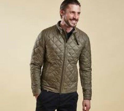 Barbour X Land Rover Men's Expedition Quilted Leather Trim Jacket 2XL NWT $400+