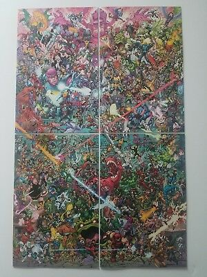 Hunt for Wolverine  - Connecting Variants - Todd Nauck / Where's Wolverine? NM+