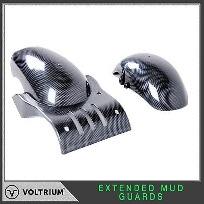Electric Scooter Mudguards - 12 Inch Wheels, Extended Length, 1000w 1600w +