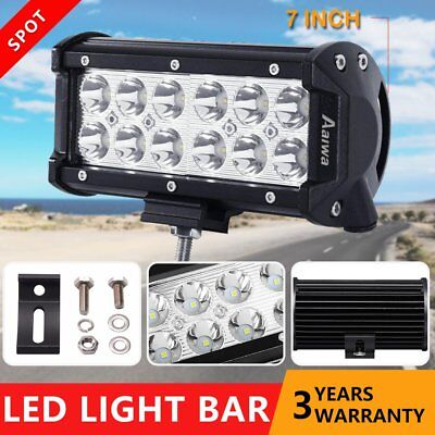 7 inch 36W CREE LED Light Bar Combo SUV Offroad 4WD UTE Boat Reverse Work Lamp