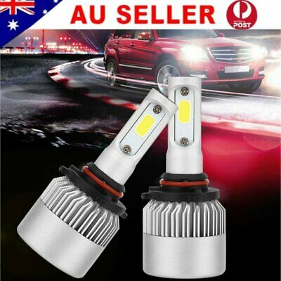9006 HB4 72W 8000LM LED Car Headlight Bulbs Driving Replacement Globes 6500K AU