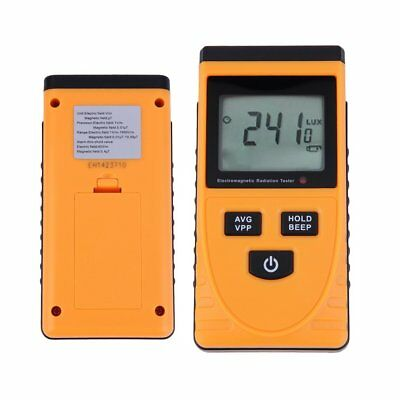 Digital LCD Electromagnetic Radiation Detector Meter Dosimeter Tester Counter HY