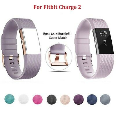 UK For Fitbit Charge 2 Wrist Strap Wristbands Replacement Accessory Watch Band