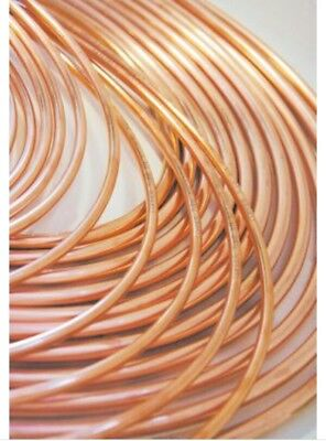 "10'bx.   Lawton Air Conditioning Copper Tube - Refrigeration Grade 5/8"" X 15m"