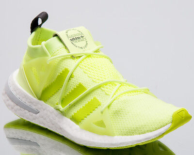 best authentic c829e 17873 adidas Originals Wmns Arkyn Women New Glow Yellow Sneakers Boost Shoes  B28111