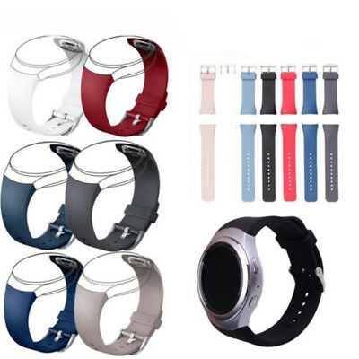 For Samsung Galaxy Gear S2 R720 Soft Silicone Wrist Bracelet Watch Band Strap