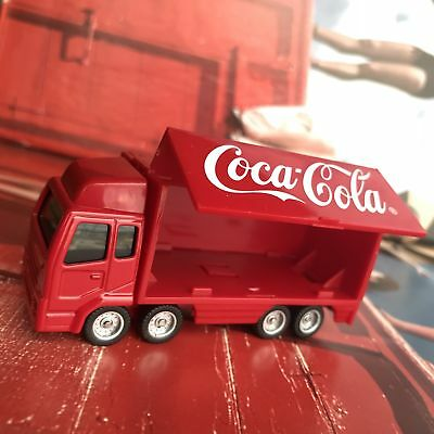Vintage Coca cola Truck Car Figure Toy C3