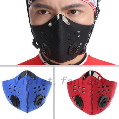 Active Carbon PM2.5 Anti-Dust Respiration Mouth Face Mask For Dust-Proof Cycling