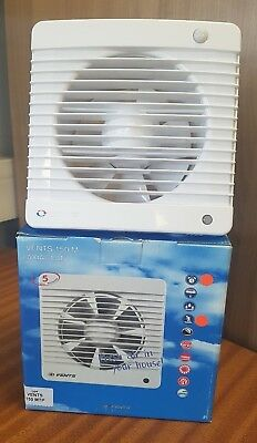 VENTS UK 6 INCH 150MM  EXTRACTOR FAN with TIMER & MOVEMENT SENSOR PIR (150MTP)