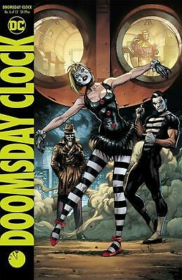 Doomsday Clock #6 (of 12) 'B' Cover variant SHIPS NOW Watchmen FREE SHIPPING