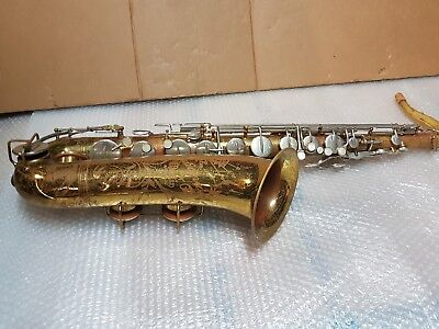 50's THE INDIANA by MARTIN TENOR SAX / SAXOPHONE - made in USA