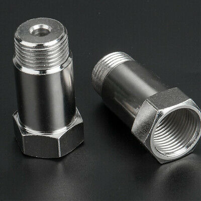 2X O2 OXYGEN SENSOR EXTENDER EXTENSION SPACER M18 x 1.5 02 BUNG ADAPTER OBD2