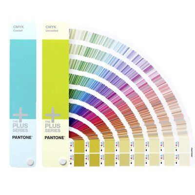 Pantone 2018 GP5101 CMYK Plus Series Coated & Uncoated Guide with Free Software
