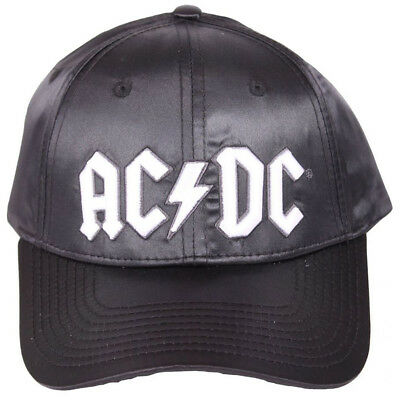 AC/DC Baseball Cap Kappe Mütze - Back in Black Rock N Roll