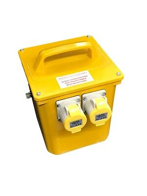 Briticent 3000/2/B Portable Tool Transformer with 2 x 16 Amp 110V Sockets - 3kVA