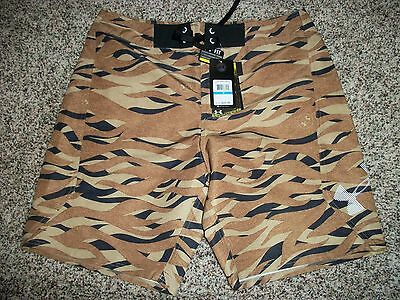 52998e2af3 UNDER ARMOUR New NWT Mens Board Shorts Swim Hydro Brown Camo Camouflage 32