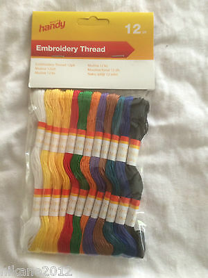 THREADS SKEINS CROSS STITCH   free postage  mix embroidery COLOURS ALSO 100 c