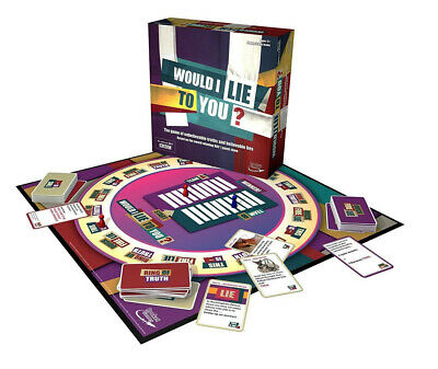 would I lie to you Board Game Perfecrt Family Game Set Toy For Kids Childrens