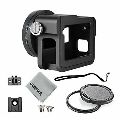 Aluminum Alloy Housing Frame Case Back Door For GoPro Hero 6 Side Open Shell NEW