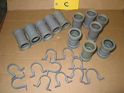 """32Mm Waste Pipe Fittings Mainly Bartol Push Fit Waste Pipe 1 1/4"""" Fittings  (C)"""