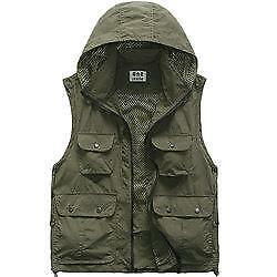 Quick Dry Hooded  Fishing Vest