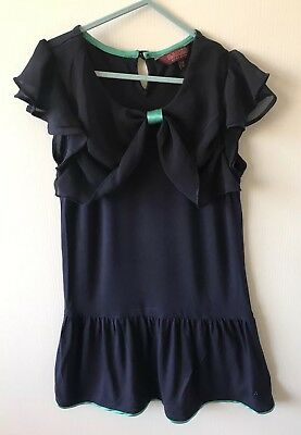 Ted Baker Girls Lovely Elegant Party Summer Holiday Dress Age 7-8 Yrs