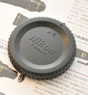 USA Genuine OEM Nikon BF-1B Body Cap/D850 7500 5500 7000 3400