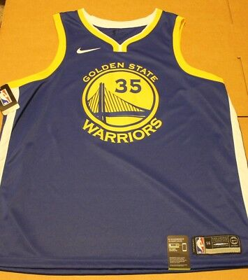 940be6c79 Nike Kevin Durant Golden State Warriors Swingman Sz 56 Authentic Jersey NWT