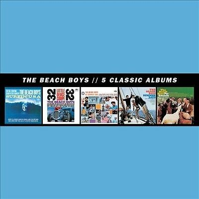5 Classic Albums [5 CD], The Beach Boys, Very Good Import,Box set