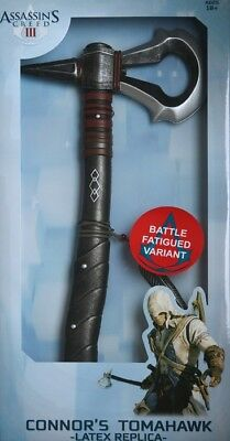 Ubisoft Assassins Creed 3 Latex Tomahawk Variante 48cm