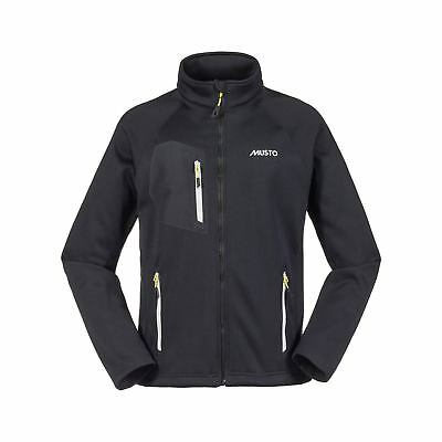 Musto Frome Moyen Fleece Layer Jacket - Noir