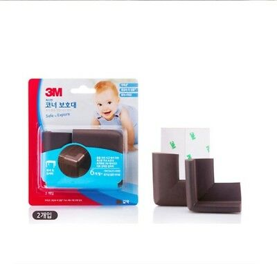 3M SAFE and Explore corner Safety Guard 2 pcs For Baby BPA Free Edge Cushion