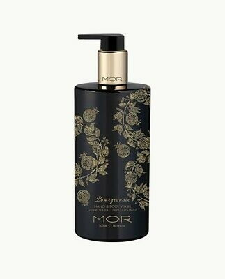 MOR POMEGRANATE Hand & Body Wash 500ml Authentic New
