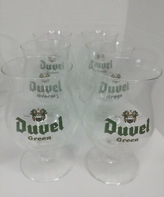 Duvel Green Tulip Glass .25l Extremely Rare Vintage **RARE**