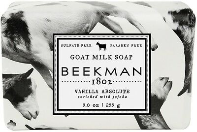 Goat Milk Bar Soap, Beekman 1802, 9 oz Vanilla Absolute