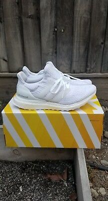 e8b1b6ac7 New Women s ADIDAS Ultraboost 3.0 - BA7686 - Triple White Ultra Boost  Sneaker