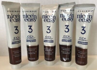 5 Clairol Nice N Easy Cc+ Colorseal Conditioner Revitalisat For Brunettes