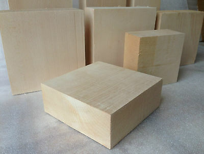 Lime Carving Blanks - 50mm Thickness Medium Kiln Dried 1st Quality Woodcarving