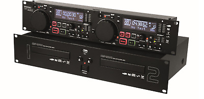 CMP-2000 Dual CD-MP3-USB Player Doppel CD Player DJ CD Player Omnitronic