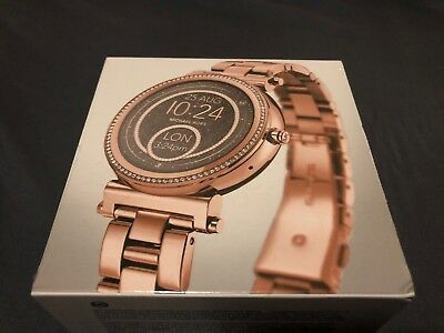 Michael Kors Access Sofie Smartwatch Rose Gold 42mm New And