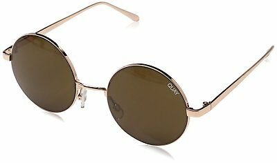173fb84c9ab9 QUAY AUSTRALIA ELECTRIC DREAMS Women's Sunglasses Round Retro - Rose/Brown  - $42.48 | PicClick