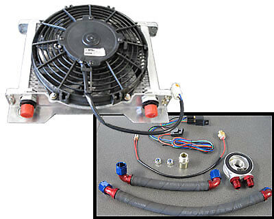 PWO6700 PWR Engine Oil Cooler Kit - Ford BA/BF Falcon 6 Cylinder