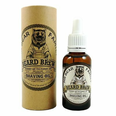 Mr. Bear Family Beard Brew Shaving Oil 30 ml