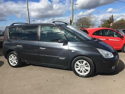 RENAULT ESPACE DYNAMIQUE 2.0 DCI 7 SEAT MPV 6 SPEED MANUAL Grey Manual Diesel, 2