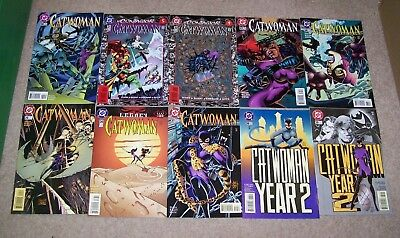 Catwoman  - Issues - 30,31,32,33,34,35,36,37,38,39  -  Dc Comics