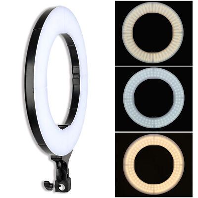 ZOMEI 14 LED Photography Ring Light Dimmable Lighting Photo Video Camera Makeup