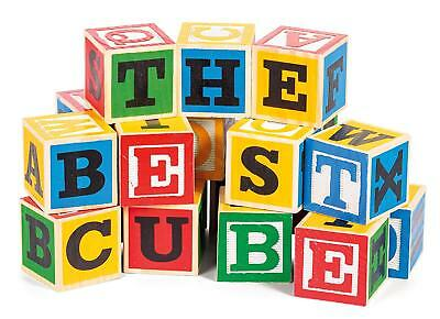 Large Alphabet Wood Blocks
