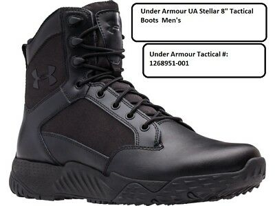 "Under Armour UA Stellar 8"" Tactical Boots Black Men's"
